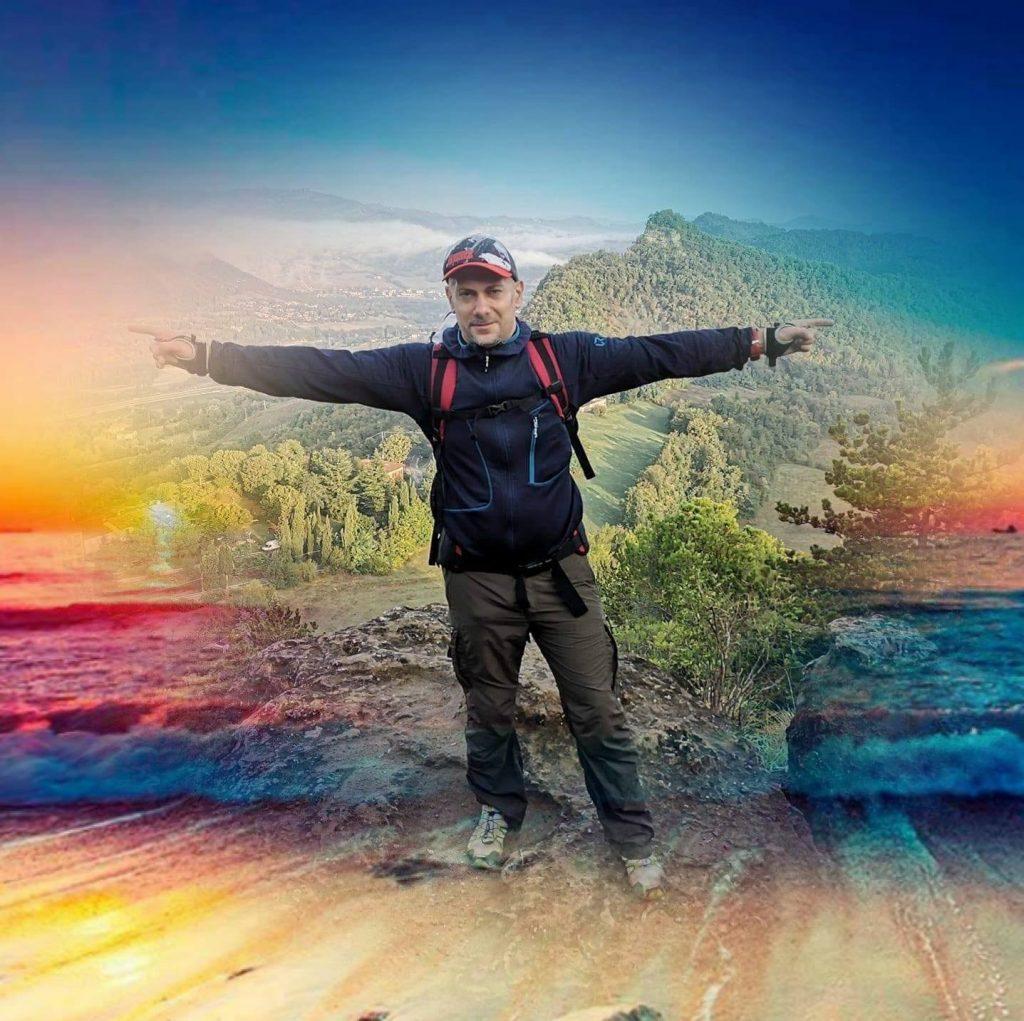 """Sulla vetta del Monte Adone, sulla """"Via degli Dei"""""""